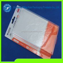 graceful surface Accept Custom Order and Tray Type PVC slide Blister card packs