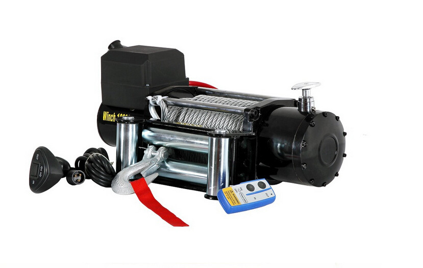 Portable Mini 12v Electric Winch Motor Winch 4x4 Car With