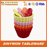 Cheap Plastic Bowl With Straw