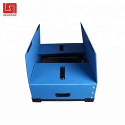 Best selling small corrugated plastic folding box