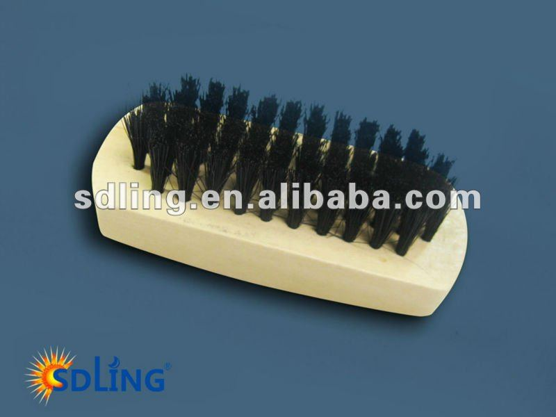 Wooden handle Bristle shoe brush