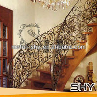 hot sale used wrought iron stair railing