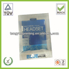 Earphone Packaging Headset Blister Packaging Box