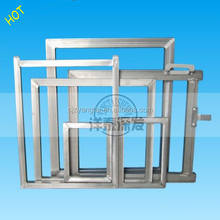 factory Make pre stretched Silk Screen Printing Aluminum Frames (high quality aluminum alloy)