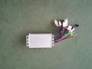 electric scooter /e-bike 48v sine wave 6 tube bldc controller