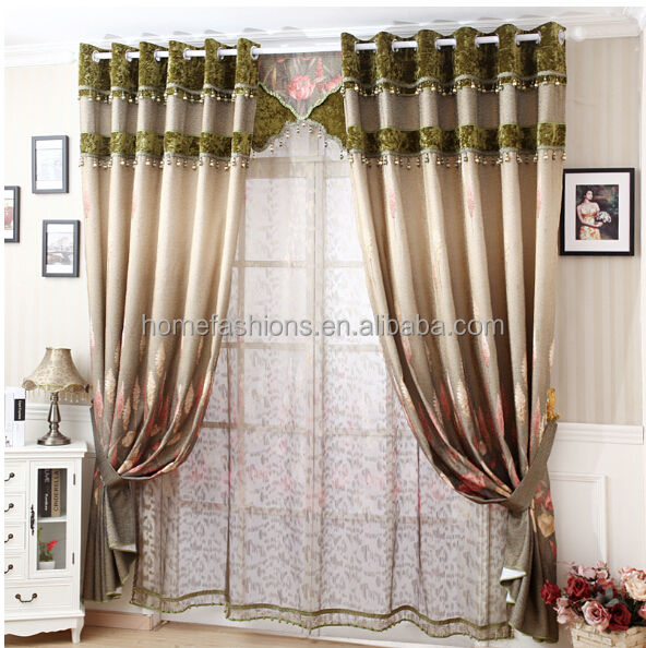 Best selling polyester roman blind curtain /ready made curtain/ venetian blinds curtain for home