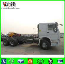 Hot sale SINOTRUK HOWO 6X4 336HP Euro2 chassis Tractor truck with big discount