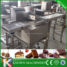 Omron brand controlchocolate wrapping machine,chocolate enrobing machine,Chocolate coating line
