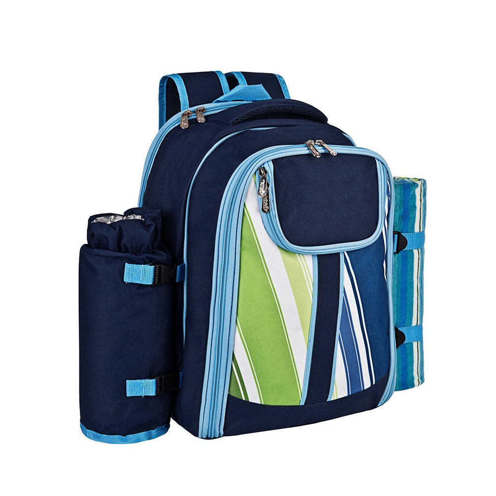 Wholesale Fashion Cater For 4 Person Picnic Backpack With Cooler Compartment