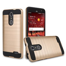 low price brushed mobile back cover china factory manufacturing smart case phone for ZTE Grand X4 956