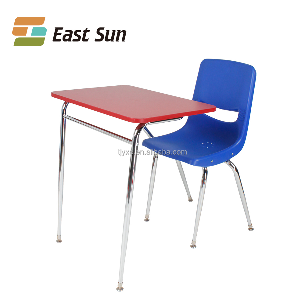 cheap school furniture table and chair for school China manufacturer