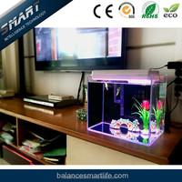 Aquarium accessories wholesale eco-friendly feature acrylic aquarium fish tank with 11 different scenes