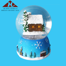diy plastic resin christmas snow globe