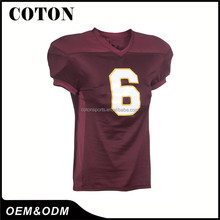 High quality factory supply youth american football jersey Chinese Wholesaler