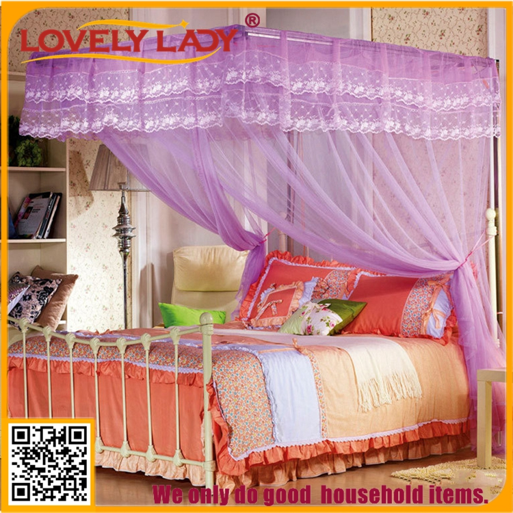 Hanging Canopy Rectangular queen size bed mosquito net