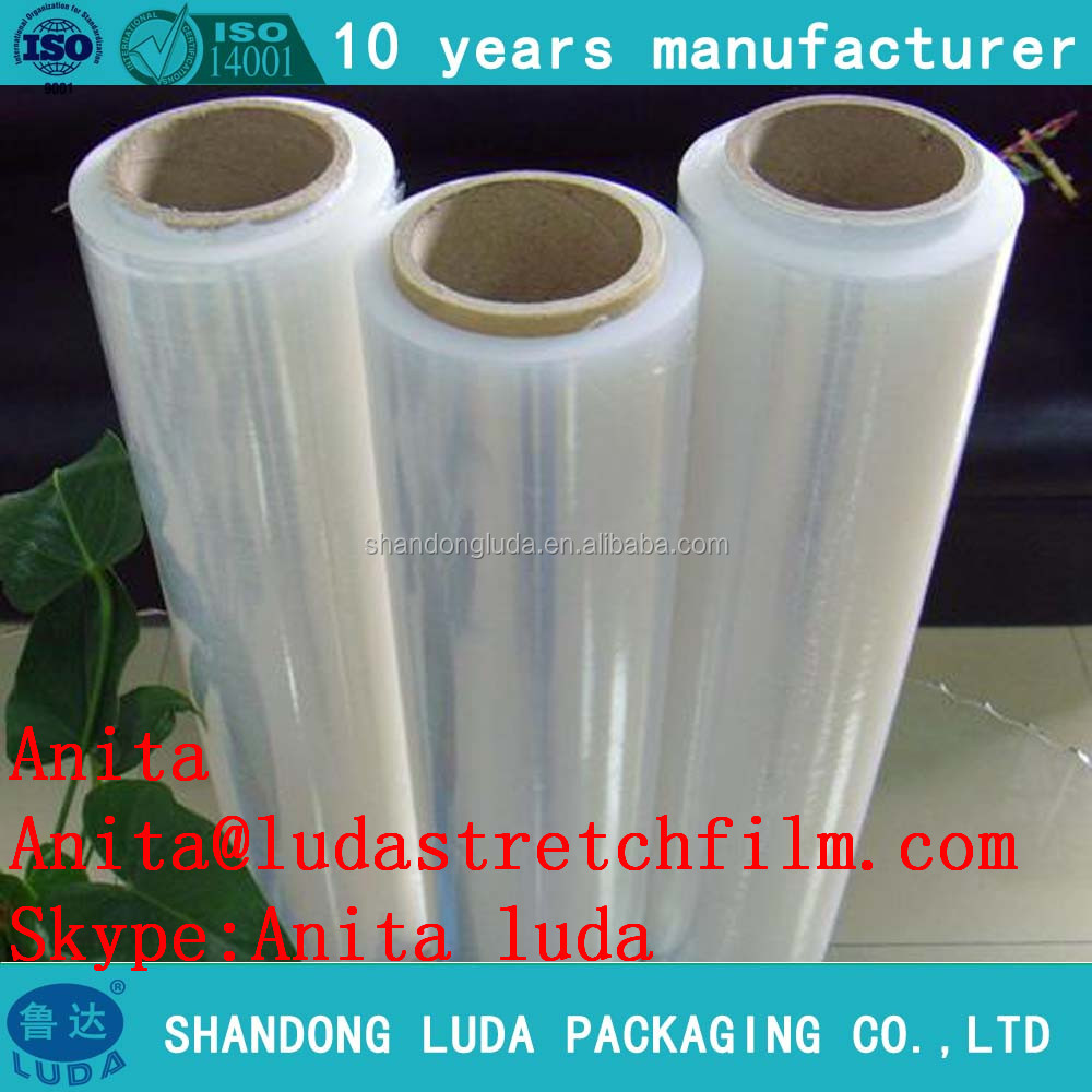 Luda 23 micron PE High Viscosity Stretch Film