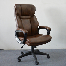 Executive Office Chair Revolving Manager Modern Leather Office Swivel Chair AGS-6220