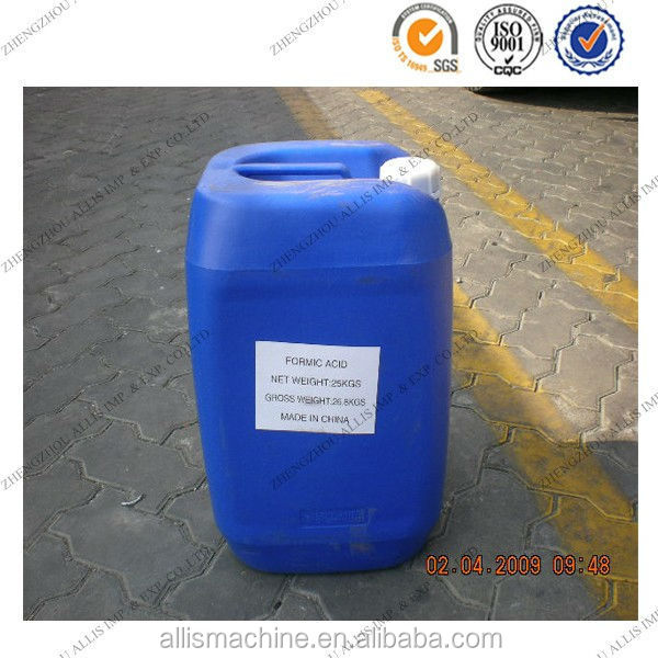 Leather and tanning 90% formic acid producer