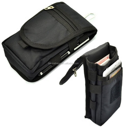 Multi-Purpose Nylon Vertical Mobile Phone Pouch Bag with Belt Clip