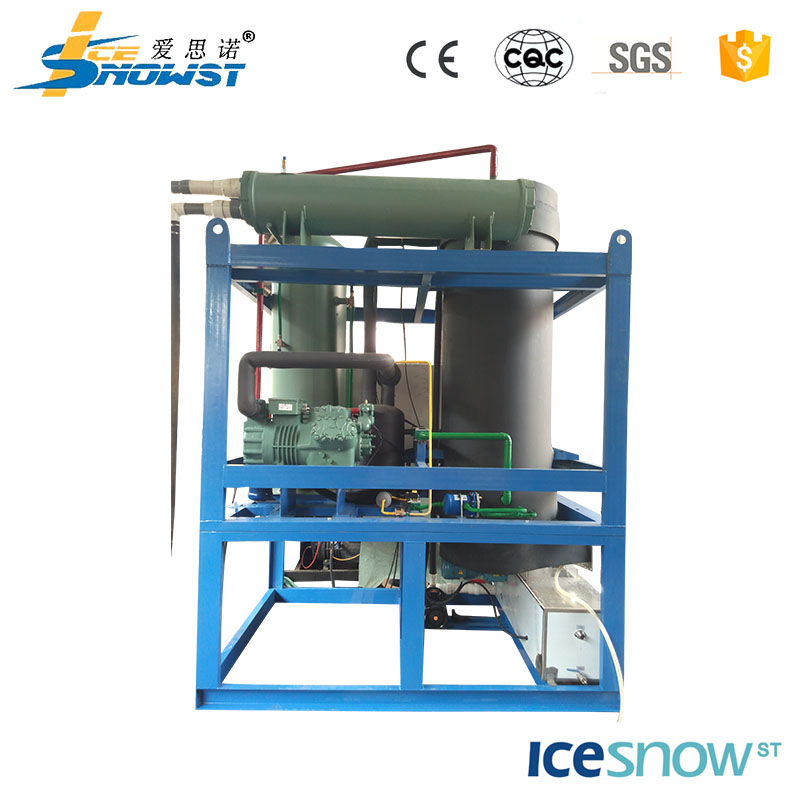 Tube ice making machine for industrial used with high capacity