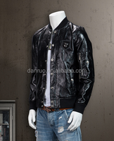 Autumn and winter new men 's coat personality Liangpi PU leather jacket Slim men' s motorcycle leather