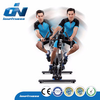 New Design exercise bike Swing Riding Indoor bike commercial gym equipment