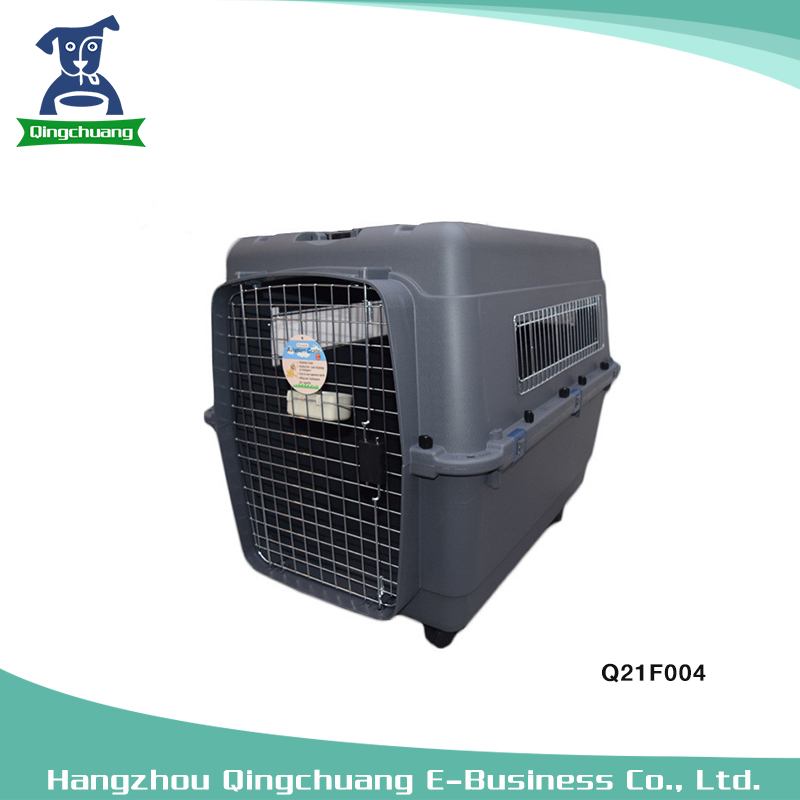 L90 Wholesale Pet Dog Flight Cage For Large Dogs