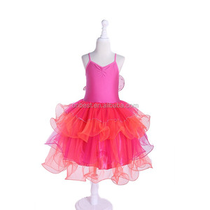 Latest Party wear Princess Wedding Dresses One Piece Girls Carnival Party Dresses For Girls