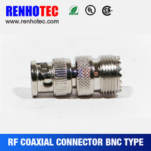 Made in China BNC Plug to UHF Female Jack Hose Connectors Adapter RF Magnetic Connectors