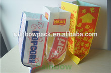 wholesale three side seal fast food and fried chicken packaging bag