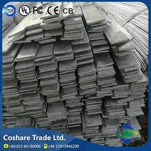 COSHARE- Passed GSG certification High usage rate astm flat bar with round edge
