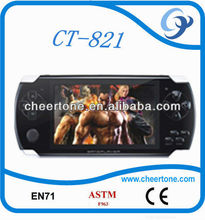 mp5 game player,32 bit TFT LCD widely screen new handheld game consoles,tv game player