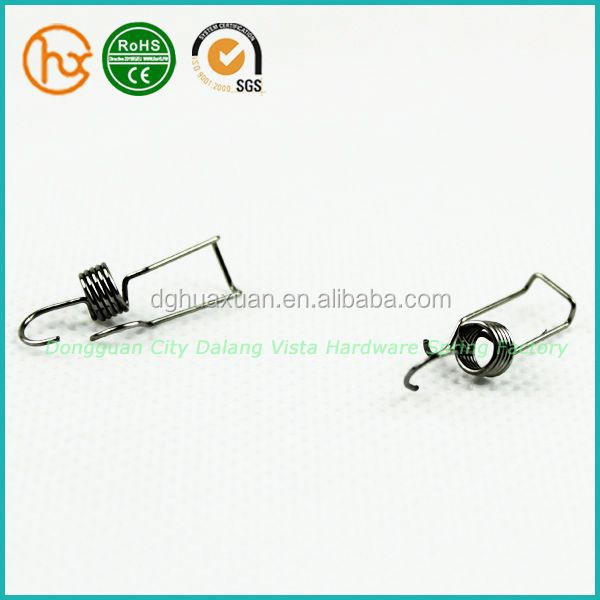 music wire torsion spring customized finger spring