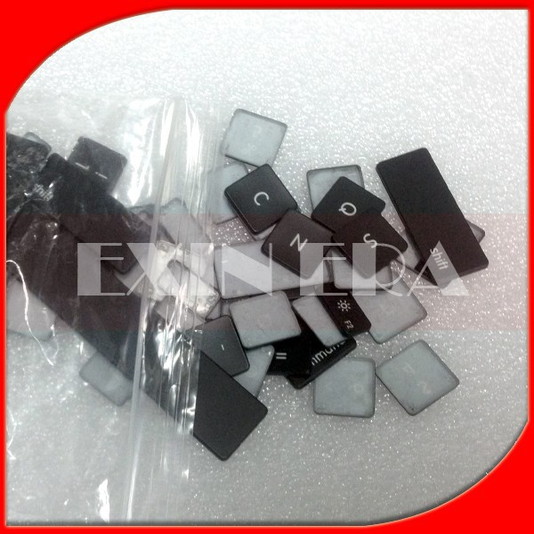 Wholesale Keyboard Keys for Apple MacBook Pro Unibody Aluminum replacement keyboard Individual keys key buttons AP02/04(EXINERA)