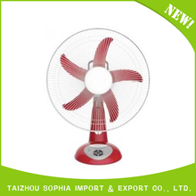 "low power 16"" table fan specifications"