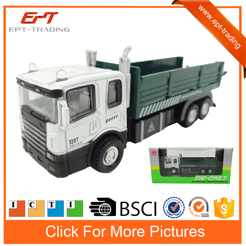 1 60 scale pull back metal diecast car truck model