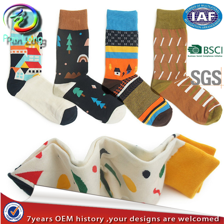 Custom printed socks wholesale