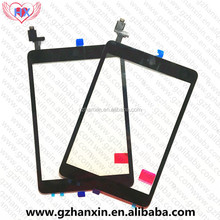 Guangzhou mobile accessories lcd screen touch digitizer assembly for iPad mini 1 2 retina with home button