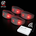 Wholesale Kids Party Favors Dual Function Wireless DMX LED Light Silicone Bracelet