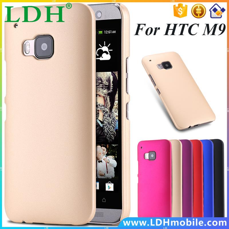 Hot Oil Smooth Back Case for HTC One M9 Luxury Hard Light Ultra Slim Fashion Candy Color Nail Skin Cellphone Cover for HTC M9