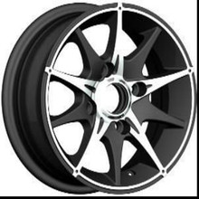 Best quality 3 piece 13 inch 4x100 replica aluminum alloy wheel rims for sale (ZW-P397)
