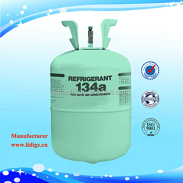 Wholesale Factory Price Refrigerant R134a Gas In 13.6kg Cylinder