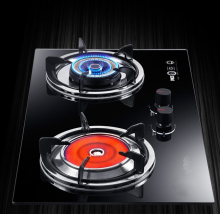 Wave light 2 burner energy saving infrared gas stove