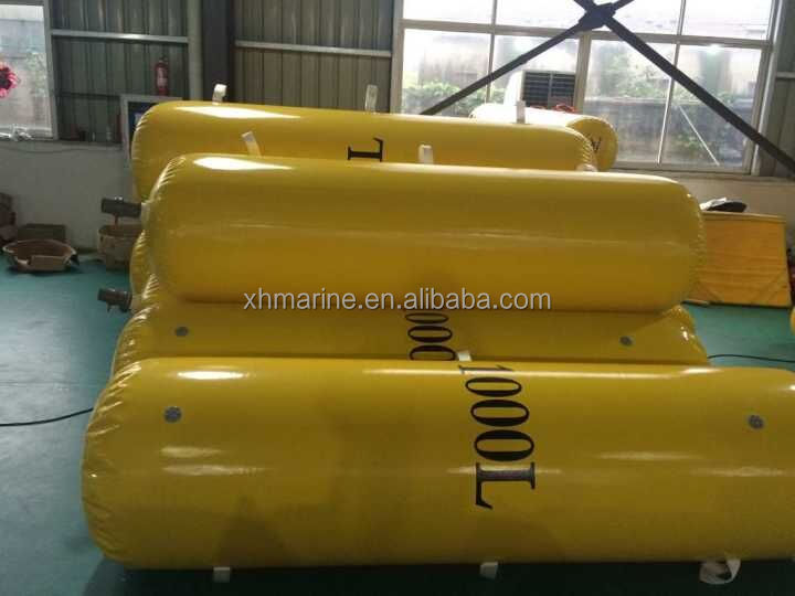 PVC Material Small Water Weight Bags for Lifeboat Buoyancy Testing