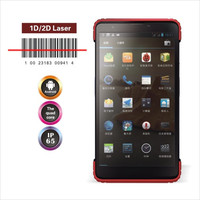 "7"" big display industrial android uhf rfid pda with barcode scanner,7200mAh big battery"