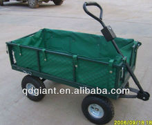 Folding Garden Cart Nursery Landscaping Wagon