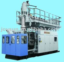plastic extrusion blowing machine