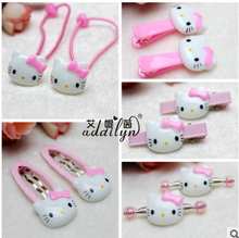 10 pcs/set baby hello kitty hair pins hair accessories for baby