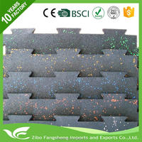 Professional permeable rubber mat kindergarten floor materials for wholesales