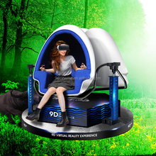 Hot Selling!Interactive Home Cinema System 1080p Full HD Virtual Reality Electric 1/3 Seat 360 Degree 9d Egg VR Cinema Simulator